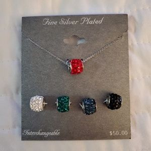 NWT Interchangeable necklace